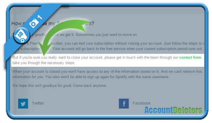 delete spotify account 1