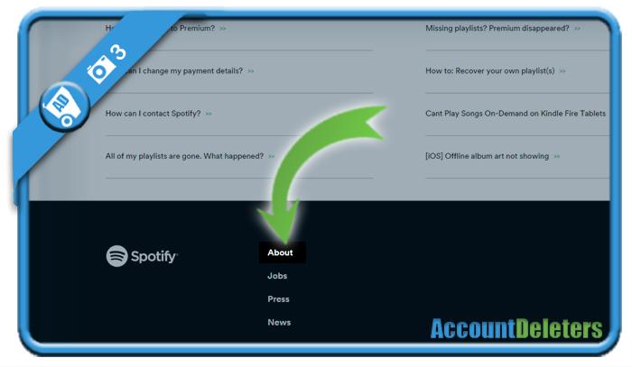 delete spotify account 3