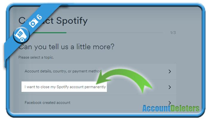 delete spotify account 6