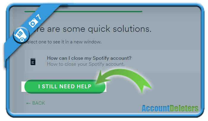 delete spotify account 7