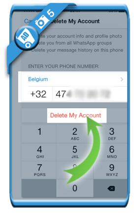 delete whatsapp account 5