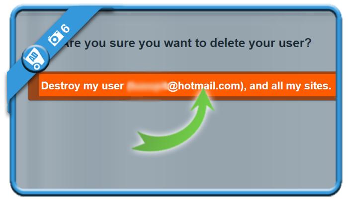 delete wix account 6