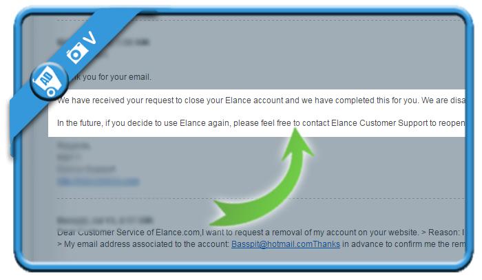 delete elance account 3
