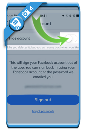 How to delete a Hot or Not account? - AccountDeleters