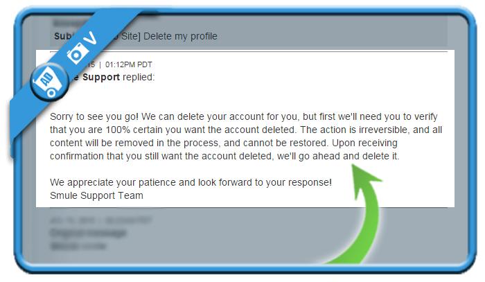 delete smule account 3