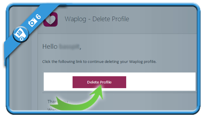 delete waplog account 6
