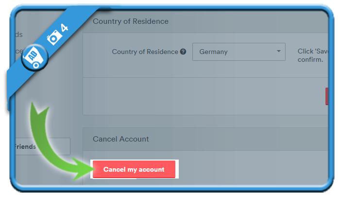 delete airbnb account 4