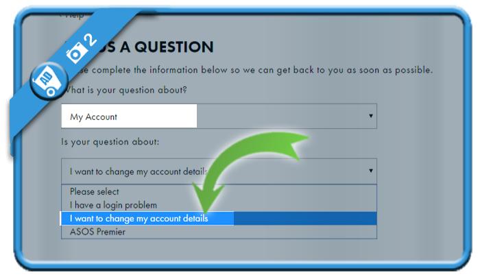 delete asos account 2
