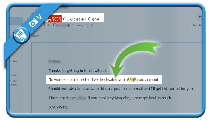 delete asos account 4