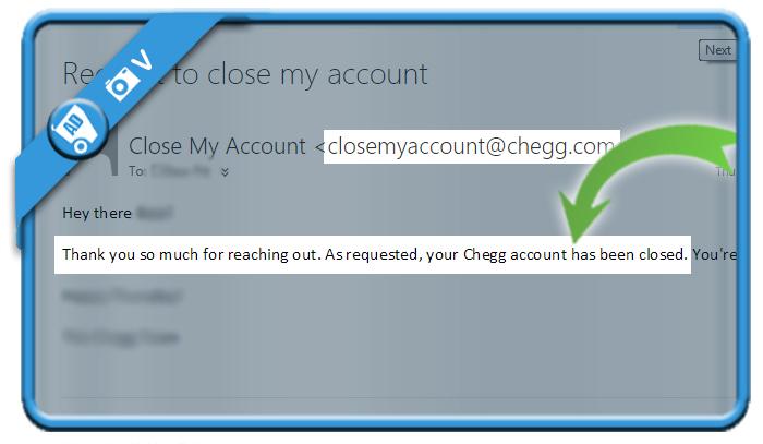 delete chegg account 2