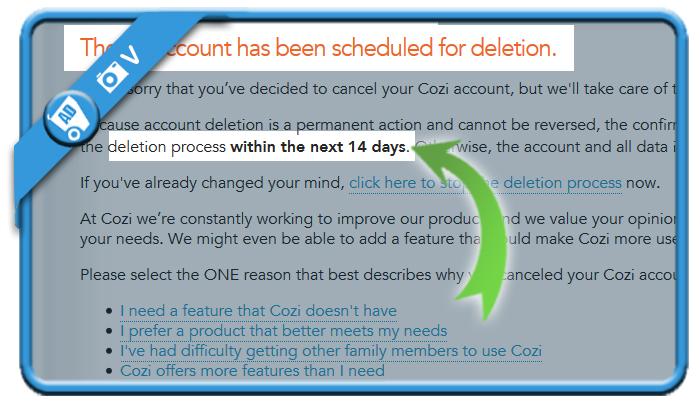 delete cozi account 3