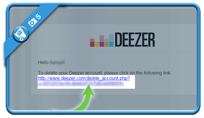 delete deezer account 5