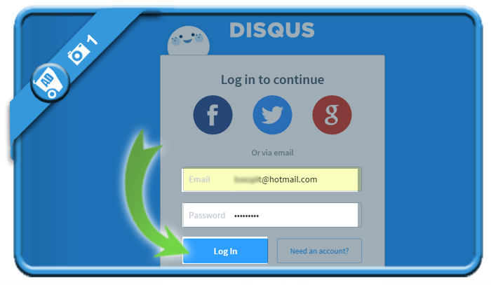 delete disqus account 1