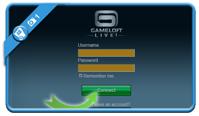 delete gameloft account 1