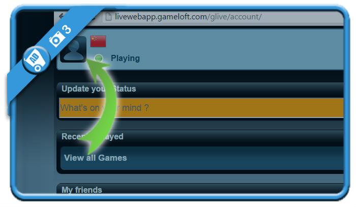 delete gameloft account 3