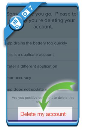 delete life360 account 7