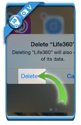 delete life360 account 8
