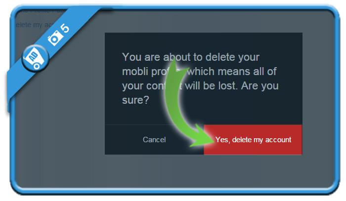 delete mobli account 5