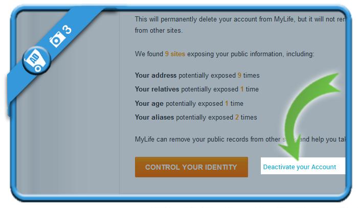 delete mylife account 3