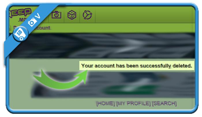 delete qeep account 5