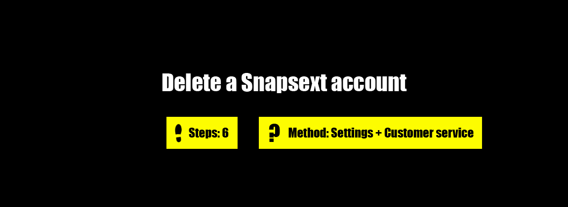 How to cancel snapsext