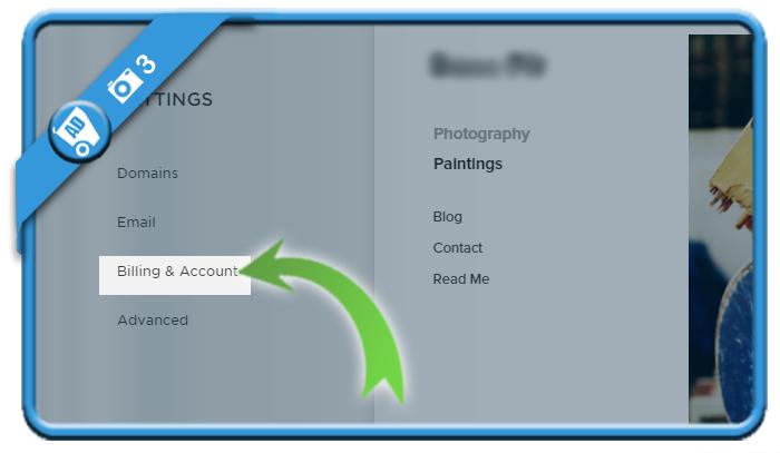 delete squarespace account 3