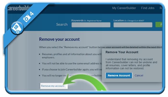 delete careerbuilder account 4