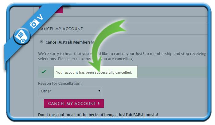 delete justfab account 5