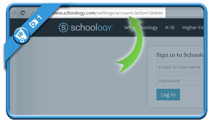 delete schoology account 1
