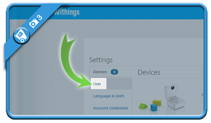 delete withings account 3