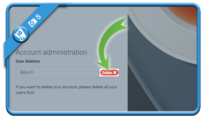 delete withings account 5