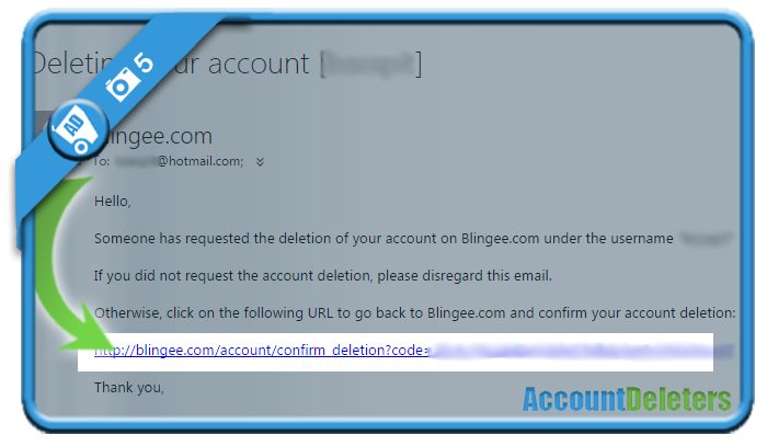 delete blingee account 5