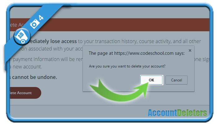 delete code school account 4