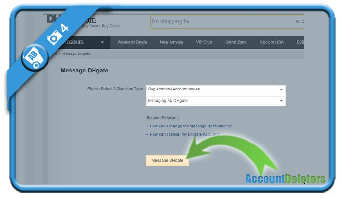 delete dhgate account 4