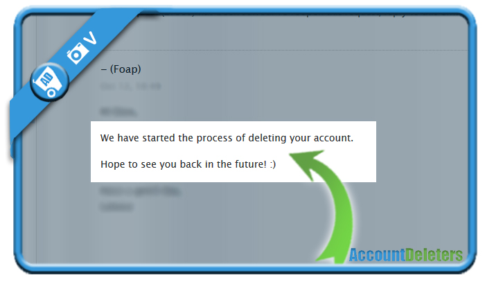 delete foap account 2