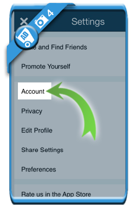 delete keek account 4