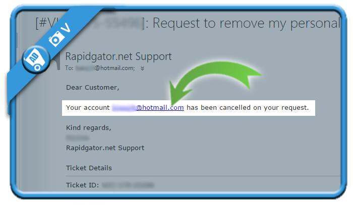 delete rapidgator account 5