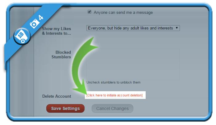 delete stumbleupon account 4