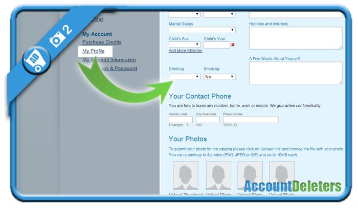delete arabiandate account 2