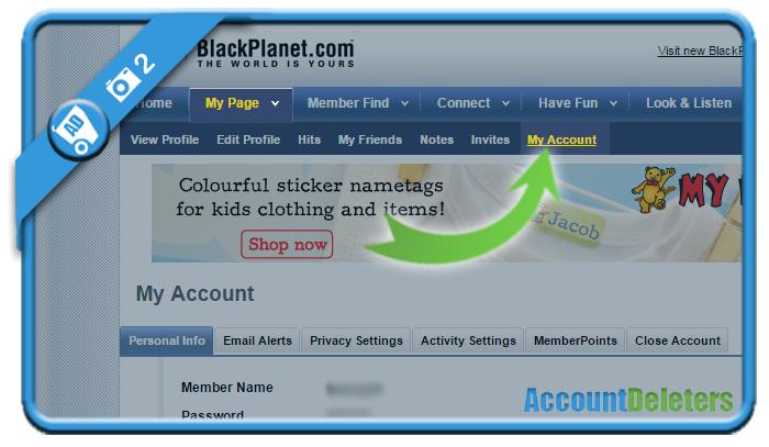 delete blackplanet account 2