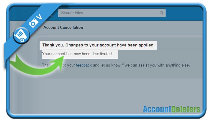 delete box account 6
