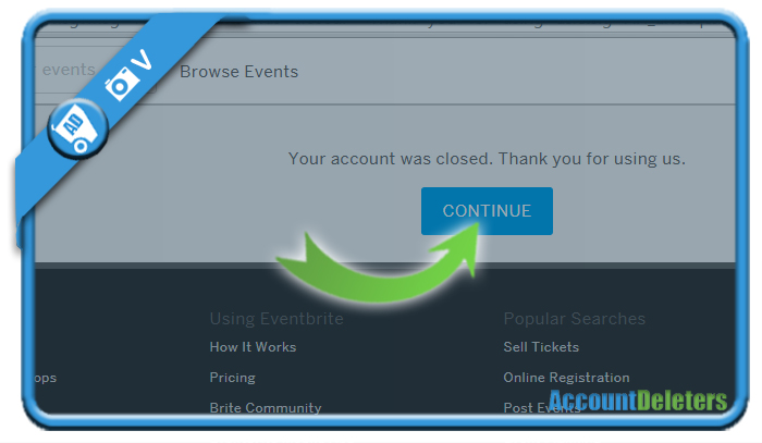 delete eventbrite account 5