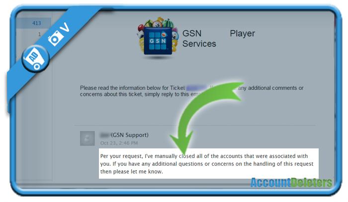 delete gsn account 2