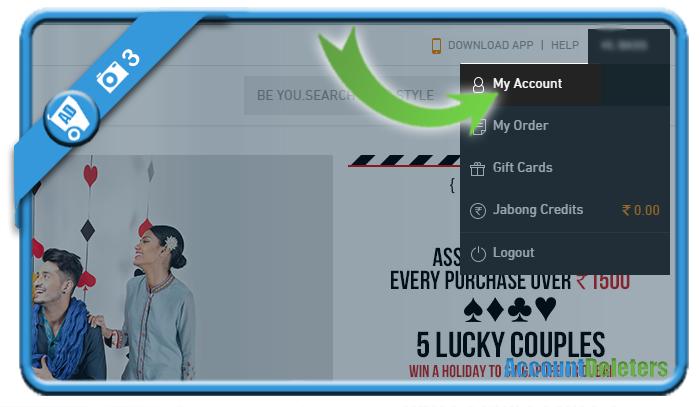 delete jabong account 3