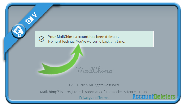 delete mailchimp account 7