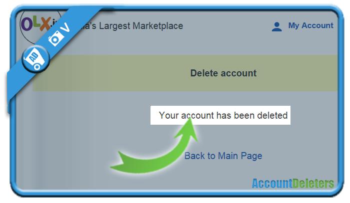 delete olx account 5