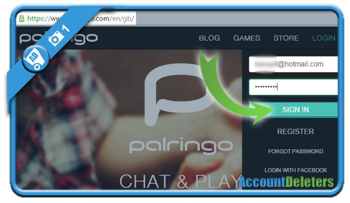 delete palringo account 1