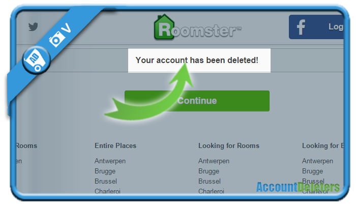 delete roomster account 5