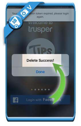 delete trusper account 6