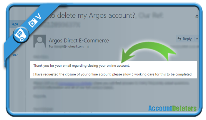 delete argos account 3